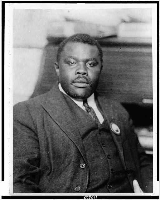 Marcus Garvey photo for CONVERSATION, Commentary