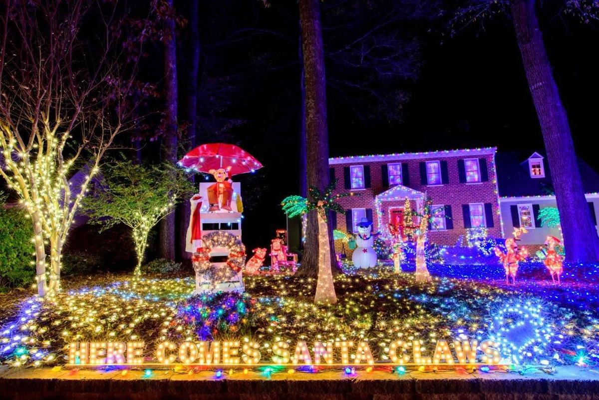 University Avenue Holiday Lights In >> 12618 Dawnridge Court Aka Christmas Court Rtd Tacky Lights