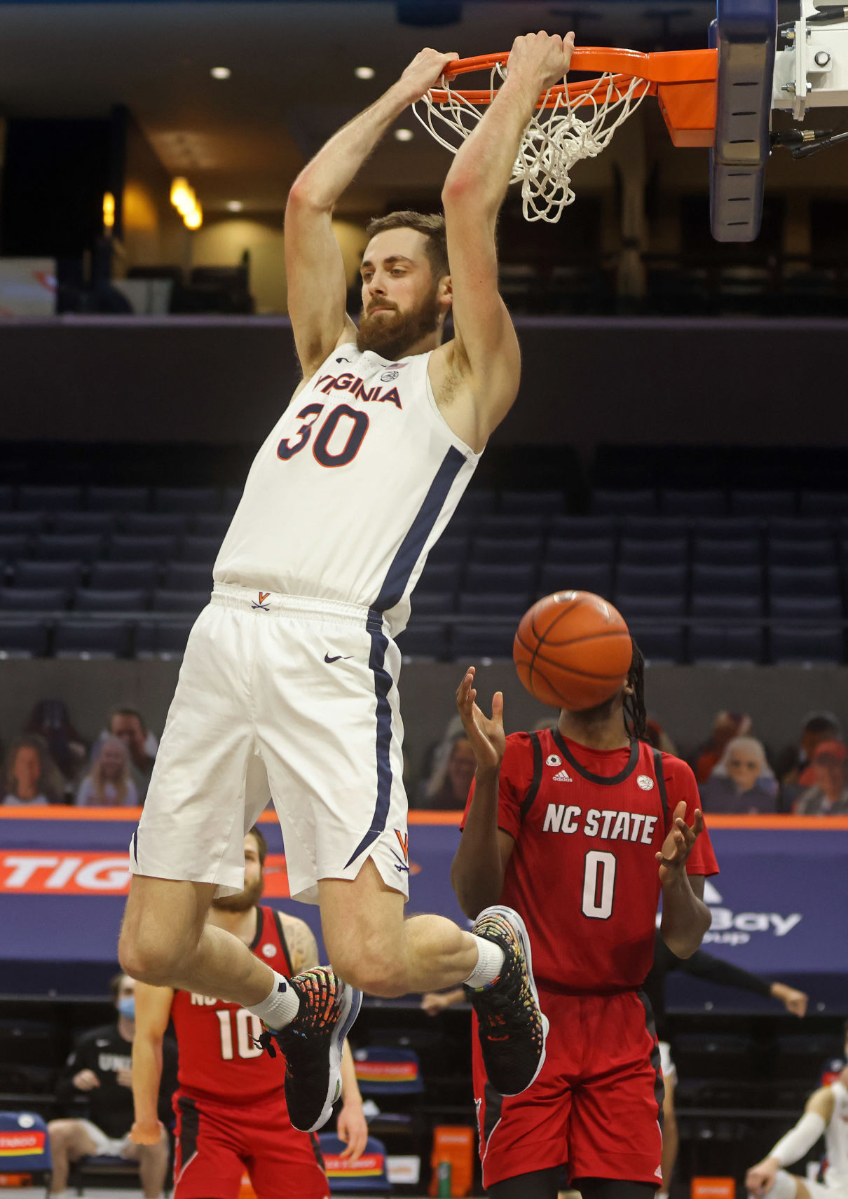 Austin Katstra Virginia Cavaliers Basketball Jersey - White