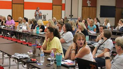 Powhatan educators thrilled with possibilities offered by grants from local couple