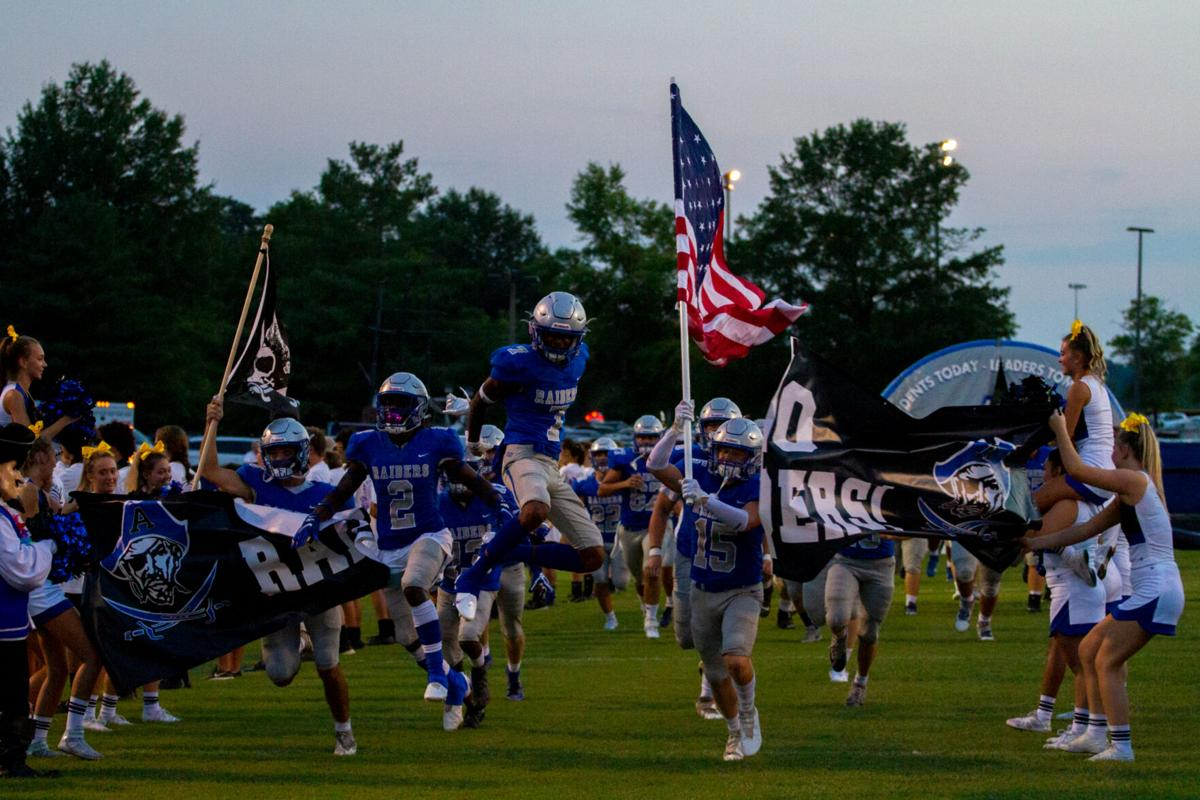 Henrico at Atlee football: Charge!