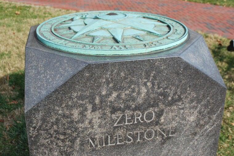 Zero Milestone at Capitol Square