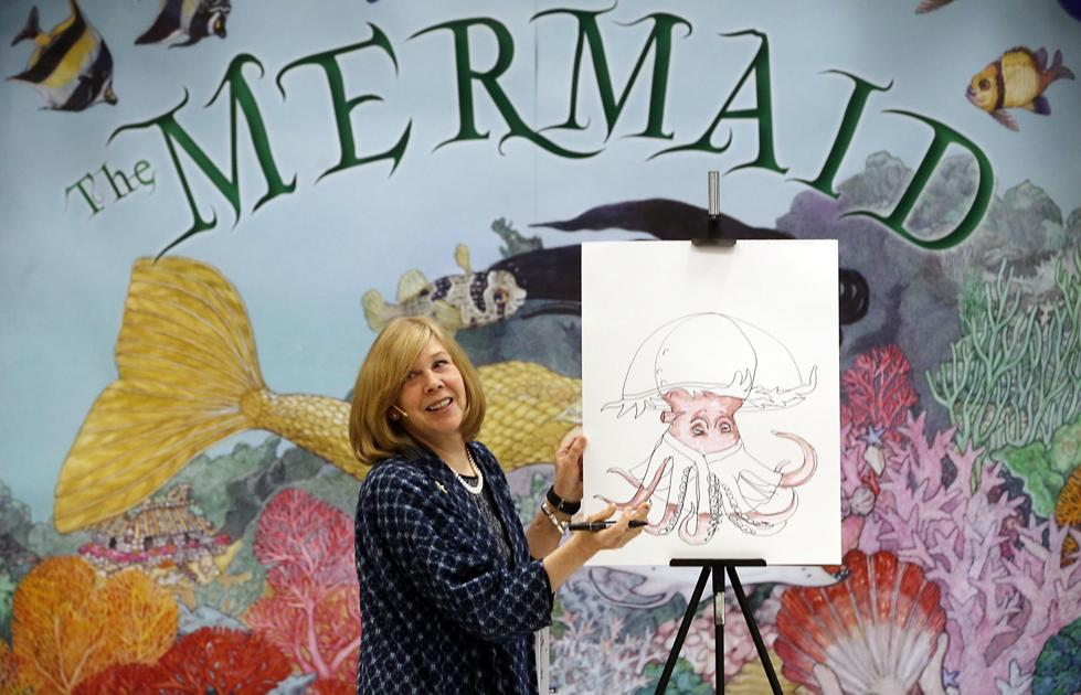 Bestselling children's book author visits Chesterfield elementary school