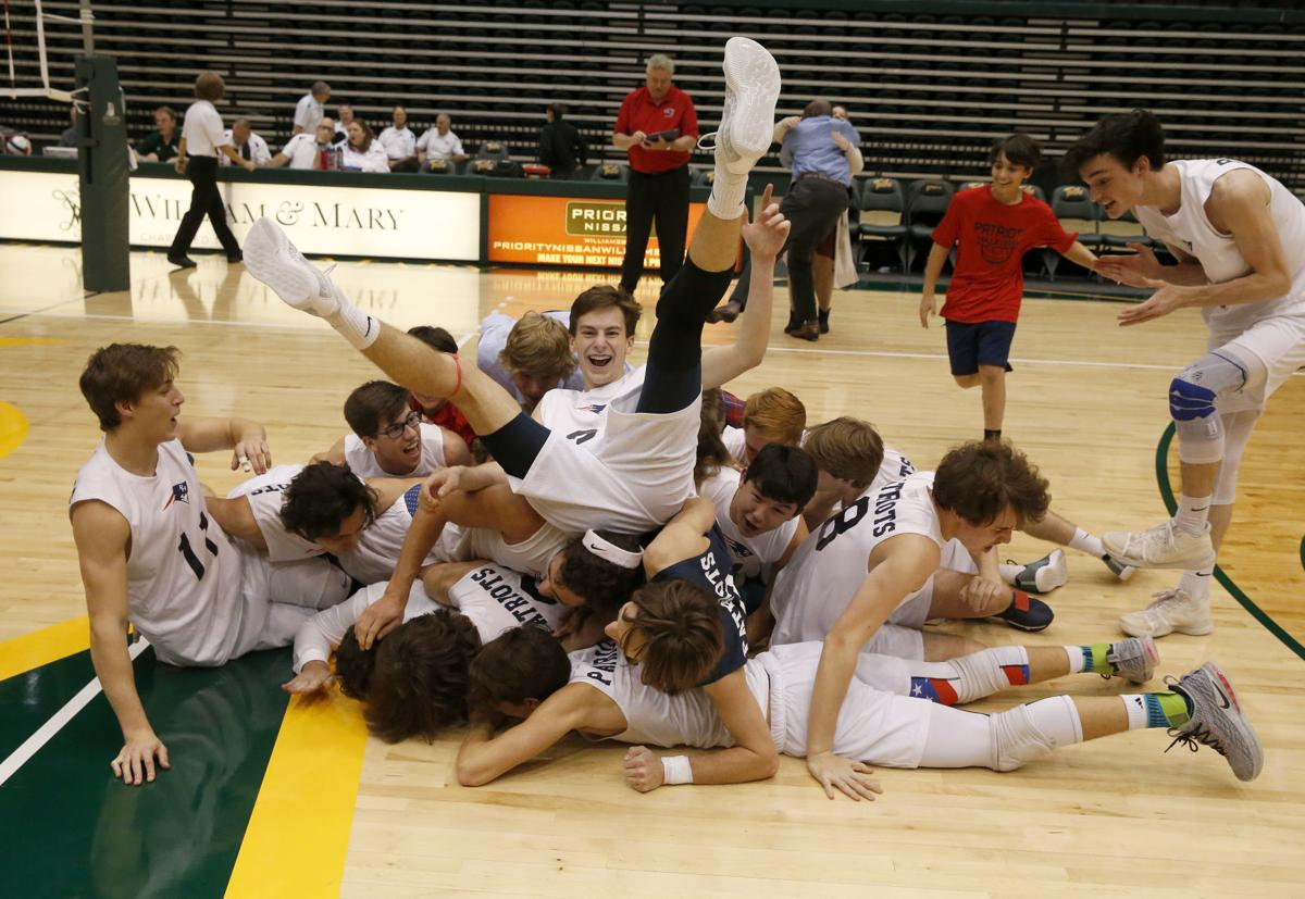 Patrick Henry vs. Great Bridge, Class 4 boys volleyball state championship