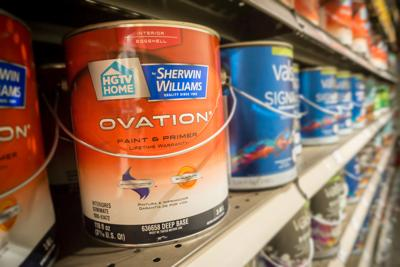 Paint is the latest product facing supply shortages and higher prices