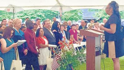 Polegreen hosts naturalization ceremony for new U S