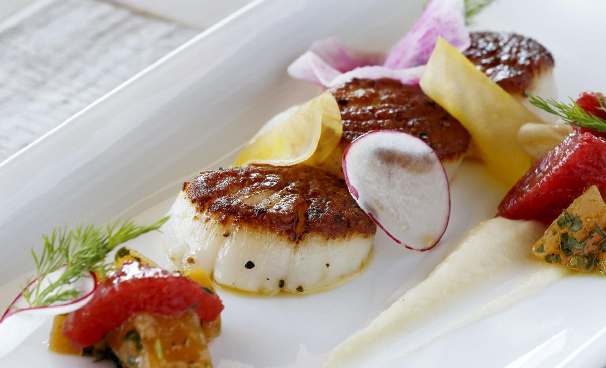 Southbound: Seared scallops
