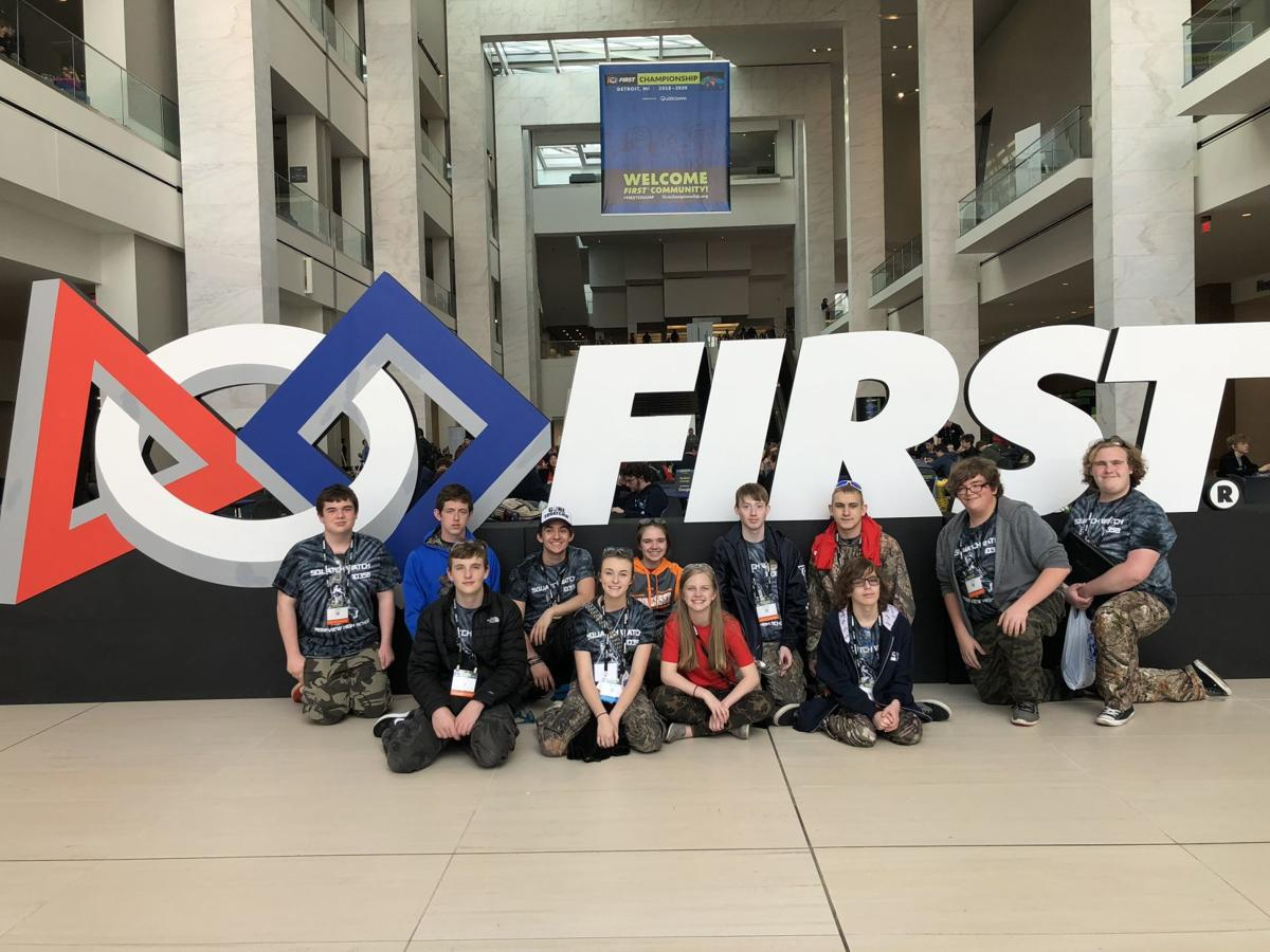 Dickenson County robotics team