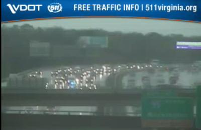 TRAFFIC ALERT: Multiple vehicle crash on I-64 west near Staples Mill