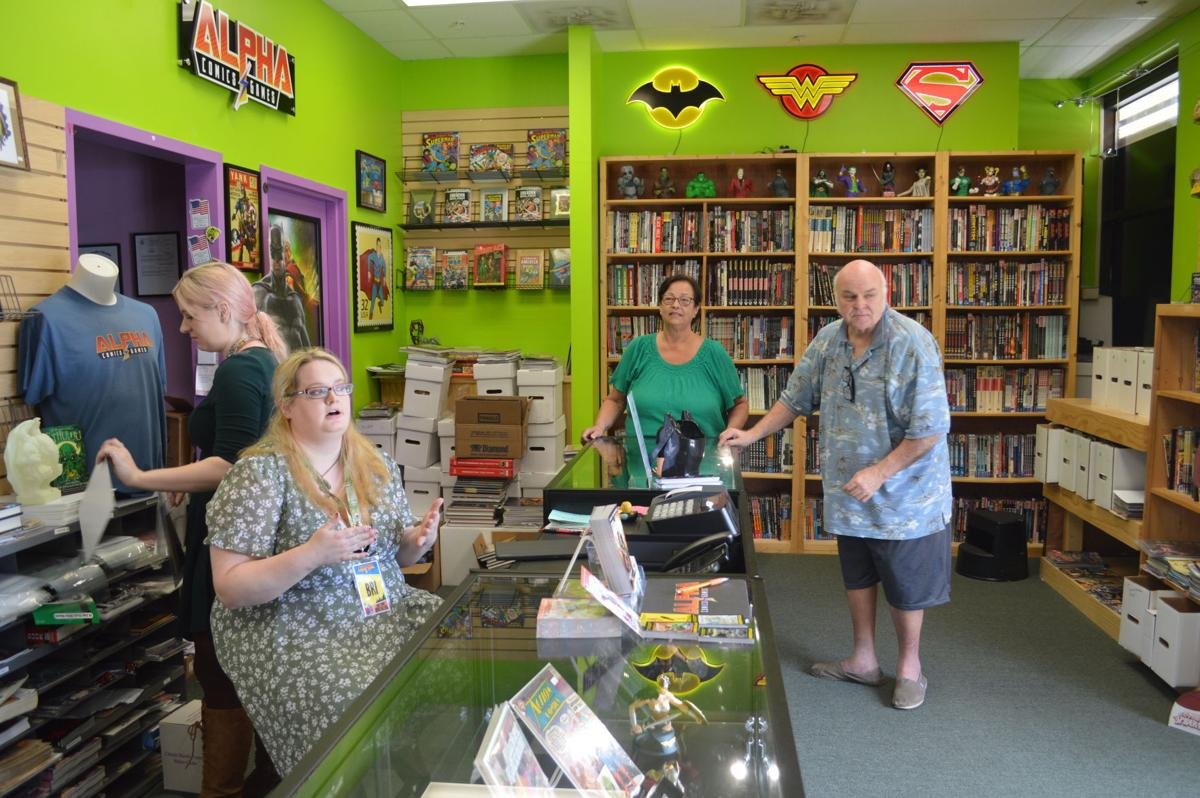 biz buzz comic book store in willow lawn has new name and new