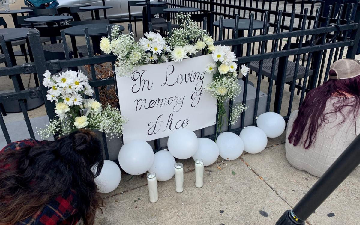 Memorial for woman hit by Pulse