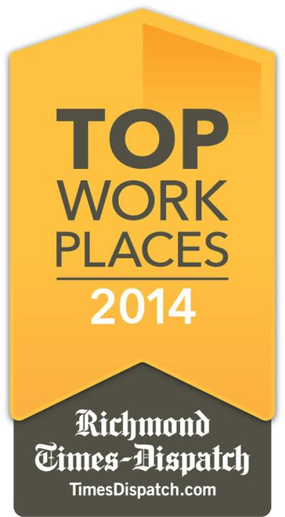 Companies selected for Richmond's Top Workplaces