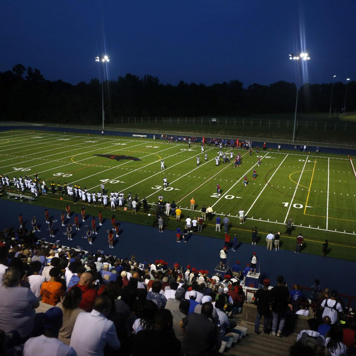 Henrico County Plays Its First High School Football Game On