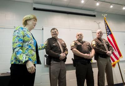 WDBJ shooting survivor thanks deputies at annual sheriff's