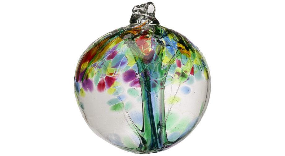 Handblown glass globes