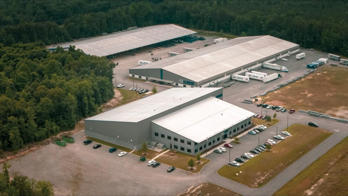 M.C. Dean  prefabrication facility in Caroline County
