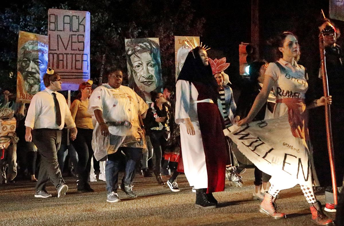 Oregon Hill Halloween Parade 2020 PHOTOS: Oregon Hill Halloween Parade   'a funeral march for the