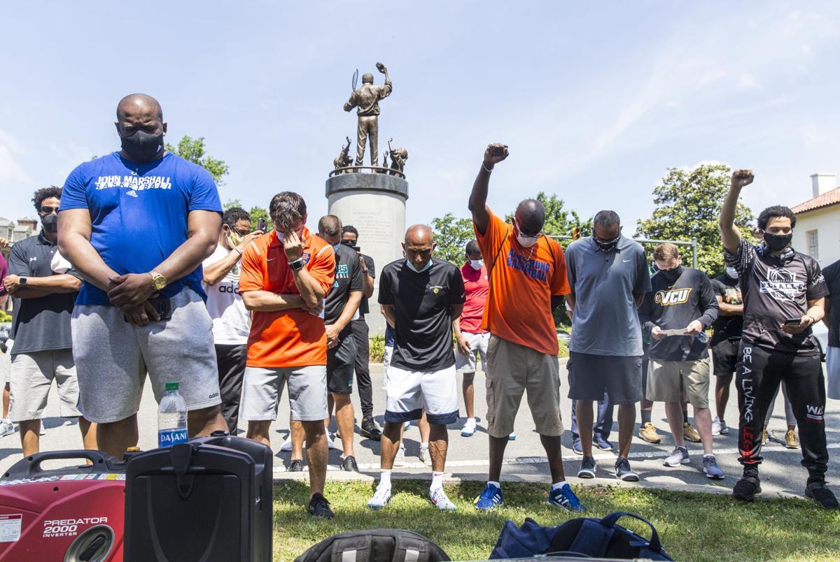 Coaches protest