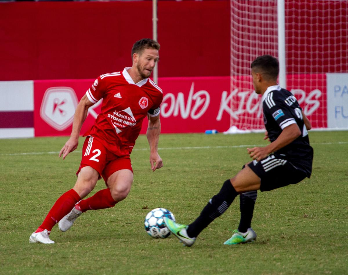 Fort Lauderdale at Richmond Kickers: Antley