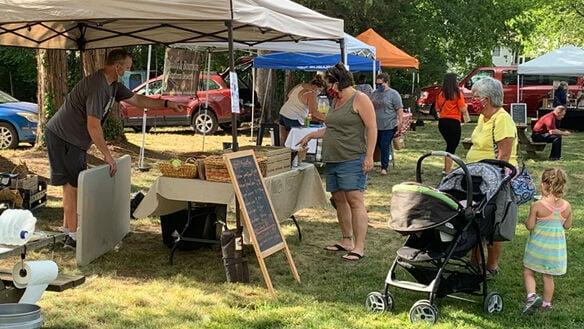 Powhatan Farmers market opens in Village area