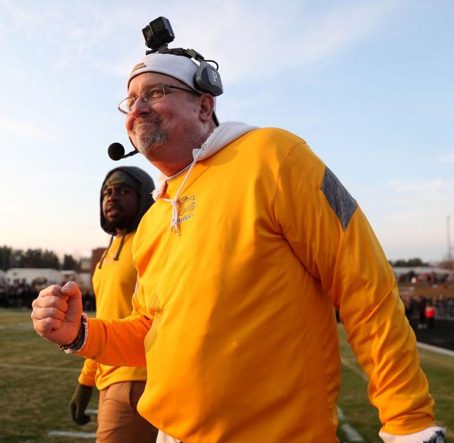 High school football coach who 'was supposed to die in October' leads team into Virginia state title game
