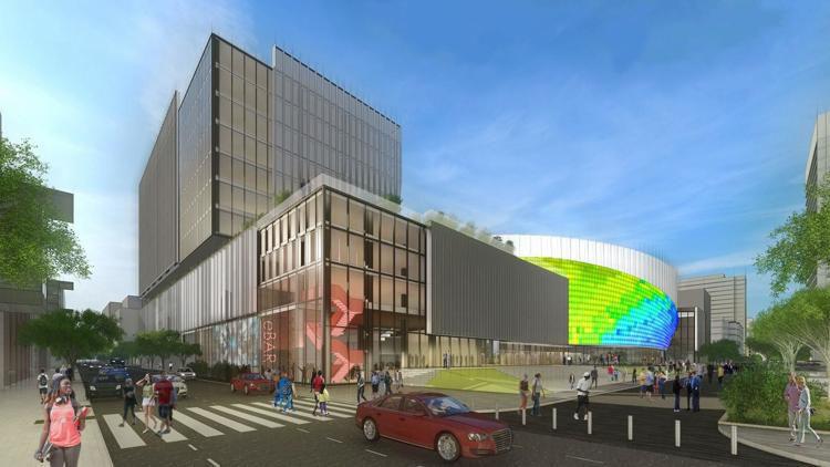 Coliseum rendering