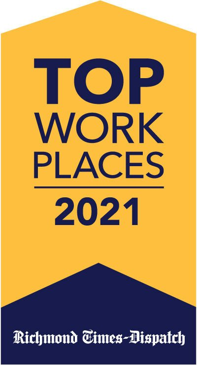 2021 Top Workplaces logo