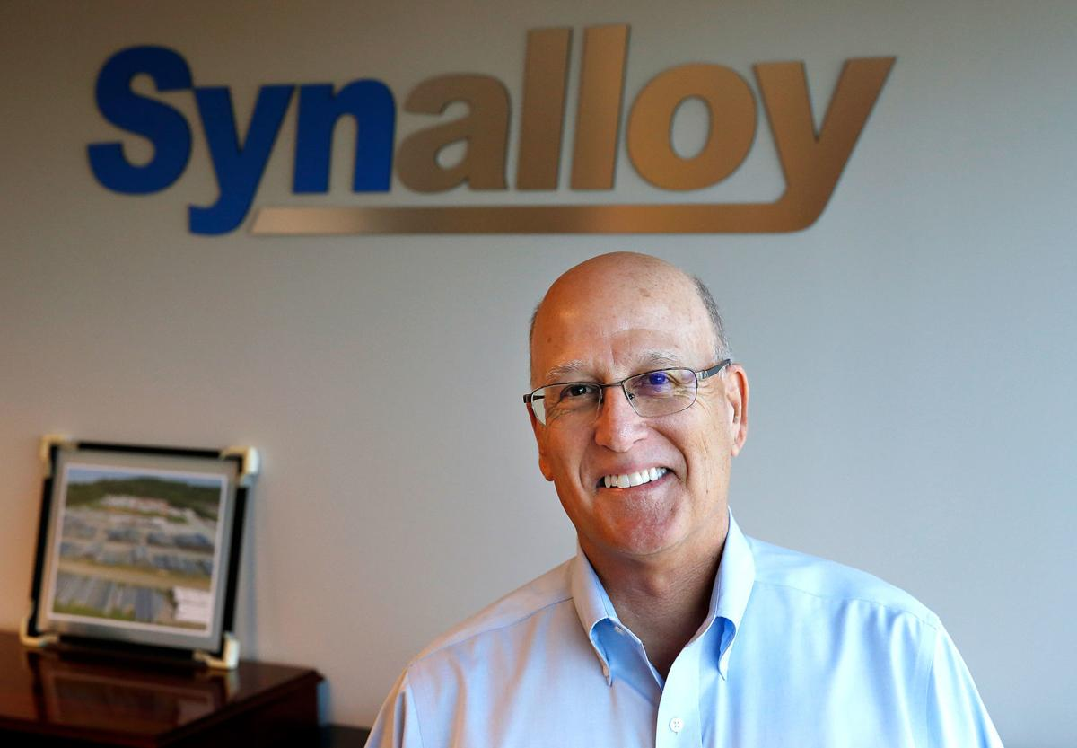 Craig Bram has been Synalloy's president and chief executive officer since 2011.