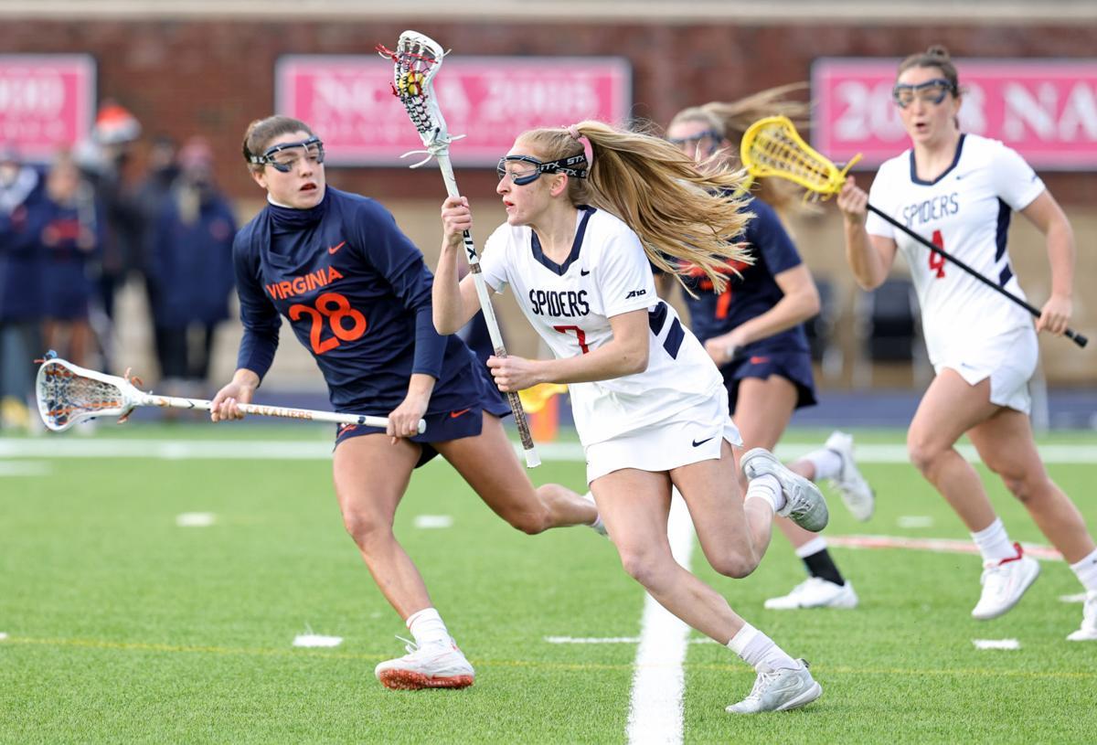 Virginia at Richmond women's lacrosse game