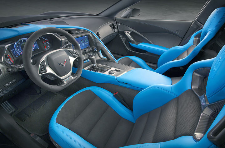 2019 Chevrolet Corvette Grand Sport interior