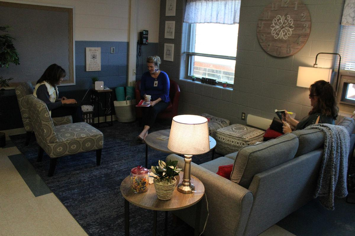 Flat Rock Elementary teachers surprised with gift of new workspace