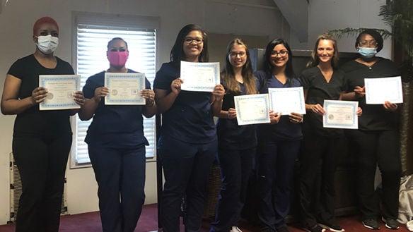 Powhatan School of Dental Assisting celebrates 2020 graduates