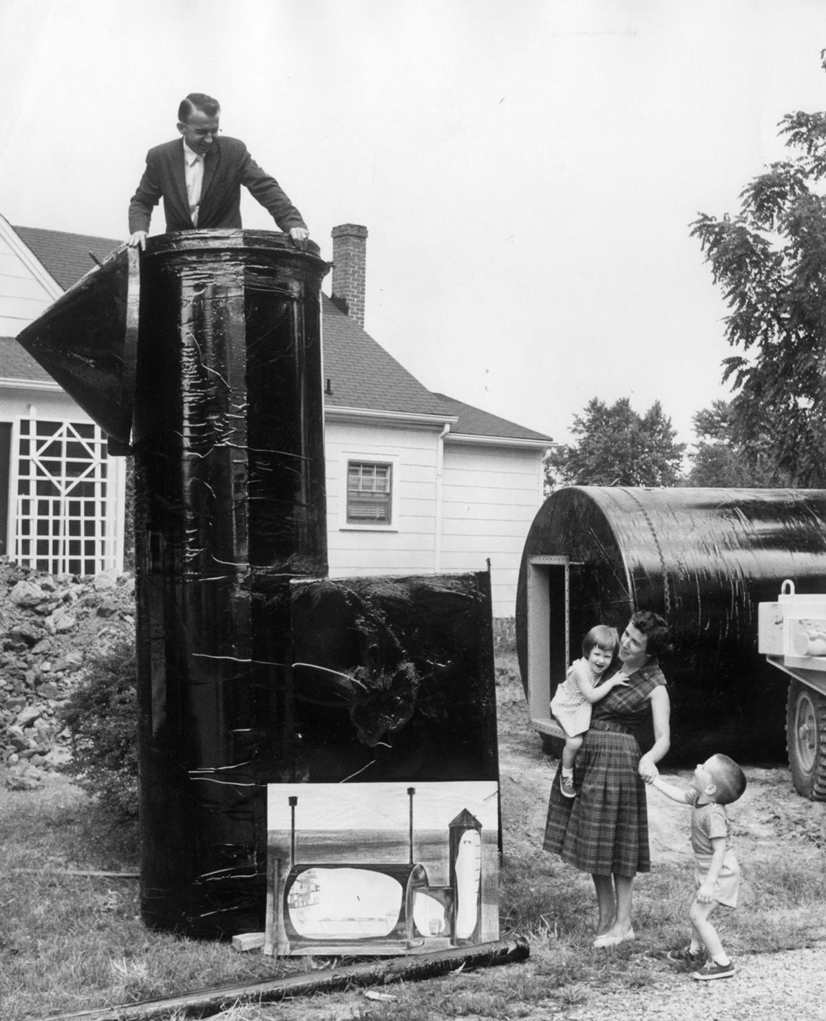 from the archives 1960s bomb shelters of richmond from the