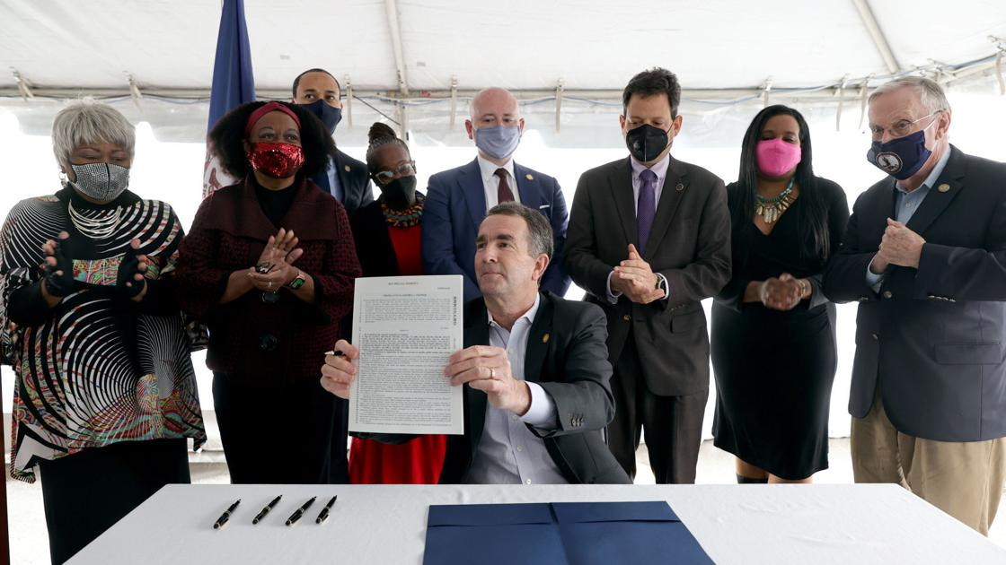 'It is the moral thing to do': Virginia's death penalty abolished in historic signing