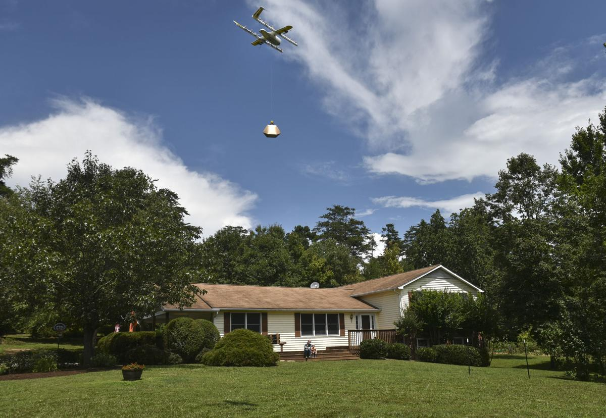 The Countrys Most Advanced Drone Package Delivery Yet Just Took Place In Virginia