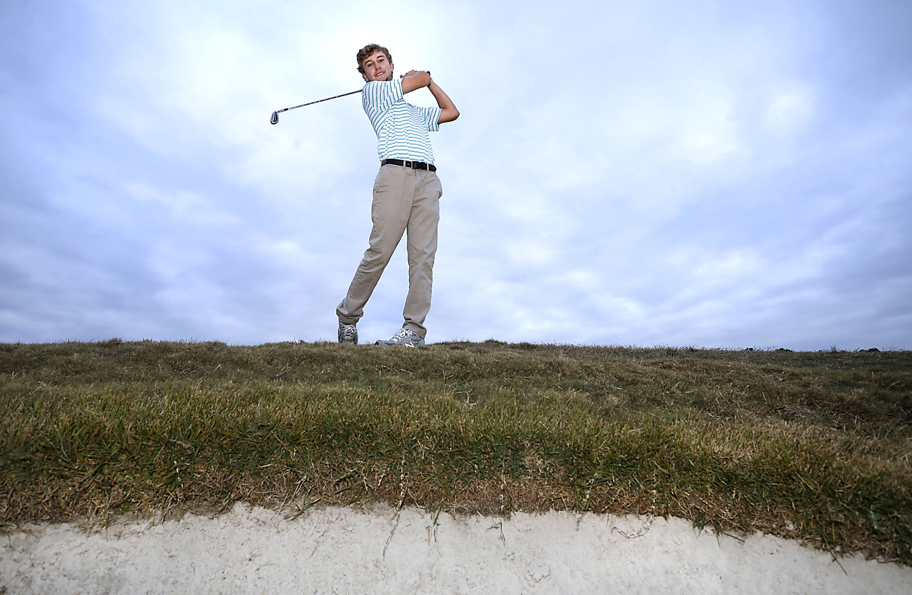 All Metro golfer of the year Cameron Moore