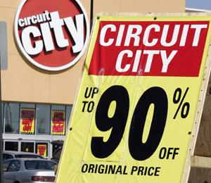 End of an era: Circuit City closes Sunday night