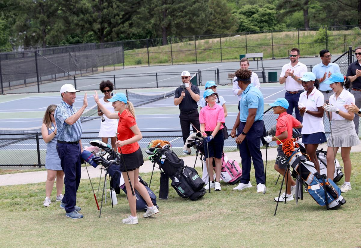 Grand opening of the redesigned Belmont Golf Course