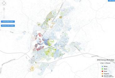 Racial Dot Map | | richmond.com