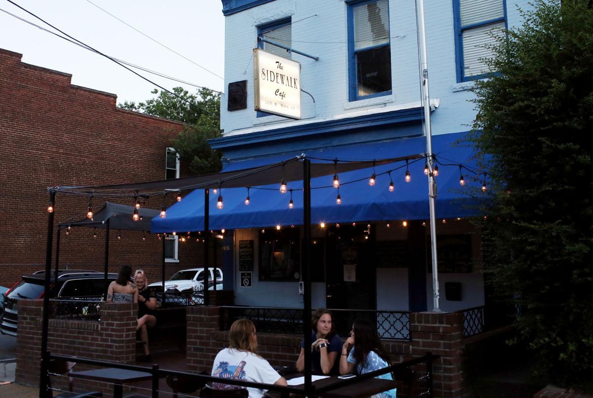 The Sidewalk Cafe patio
