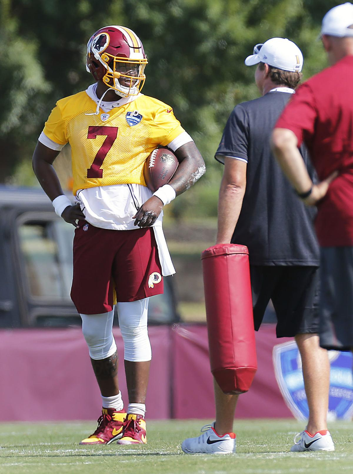 best sneakers 08d60 9b5fe PHOTOS: Washington Redskins Training Camp, Day Two | Sports ...