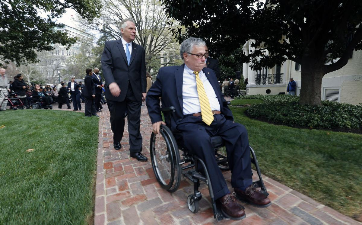 Executive Mansion Accessibility Ramp