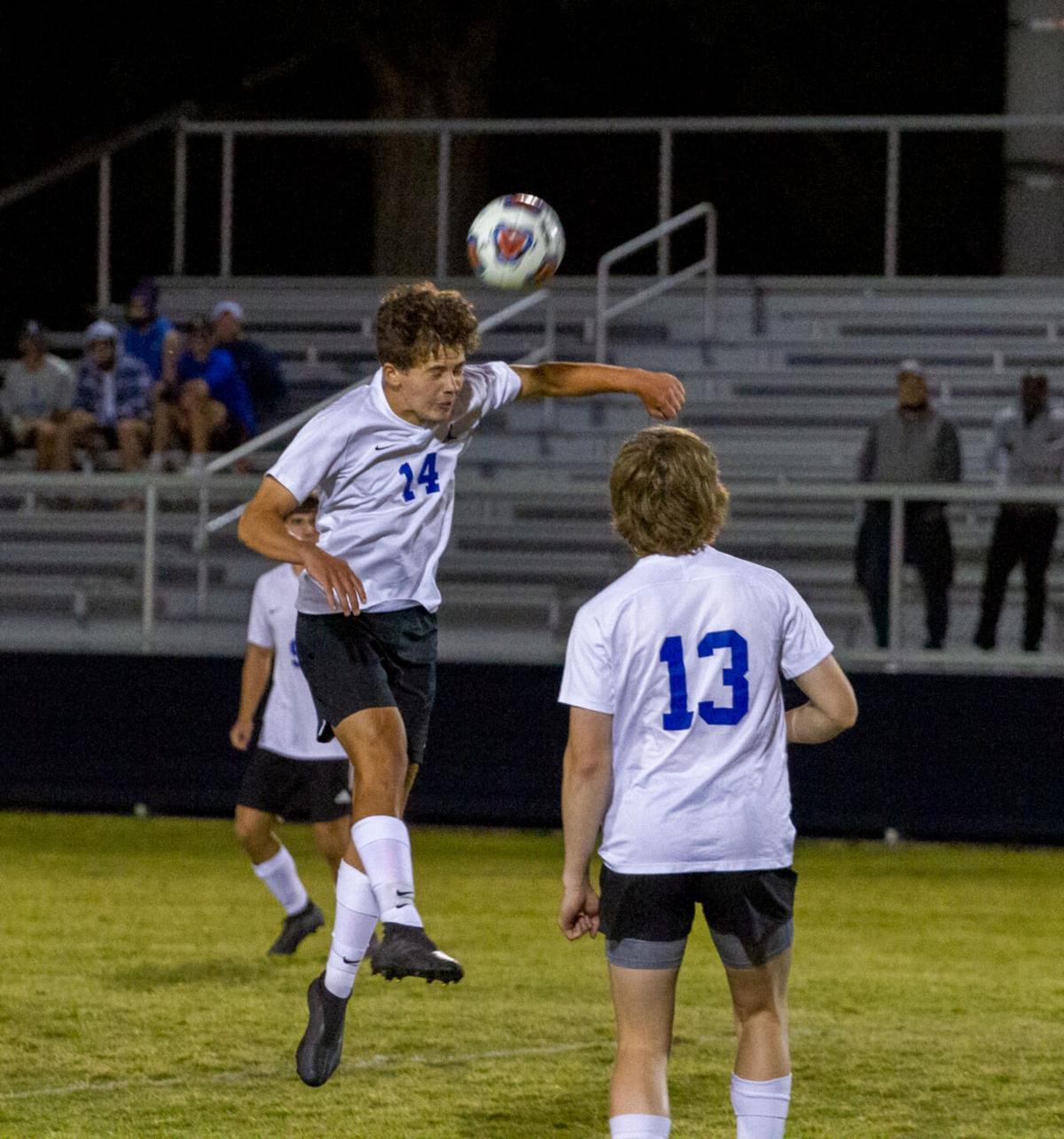 Atlee at Patrick Henry boys soccer: Heady time