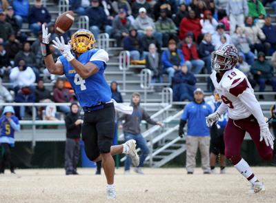 I.C. Norcom at Hopewell high school football