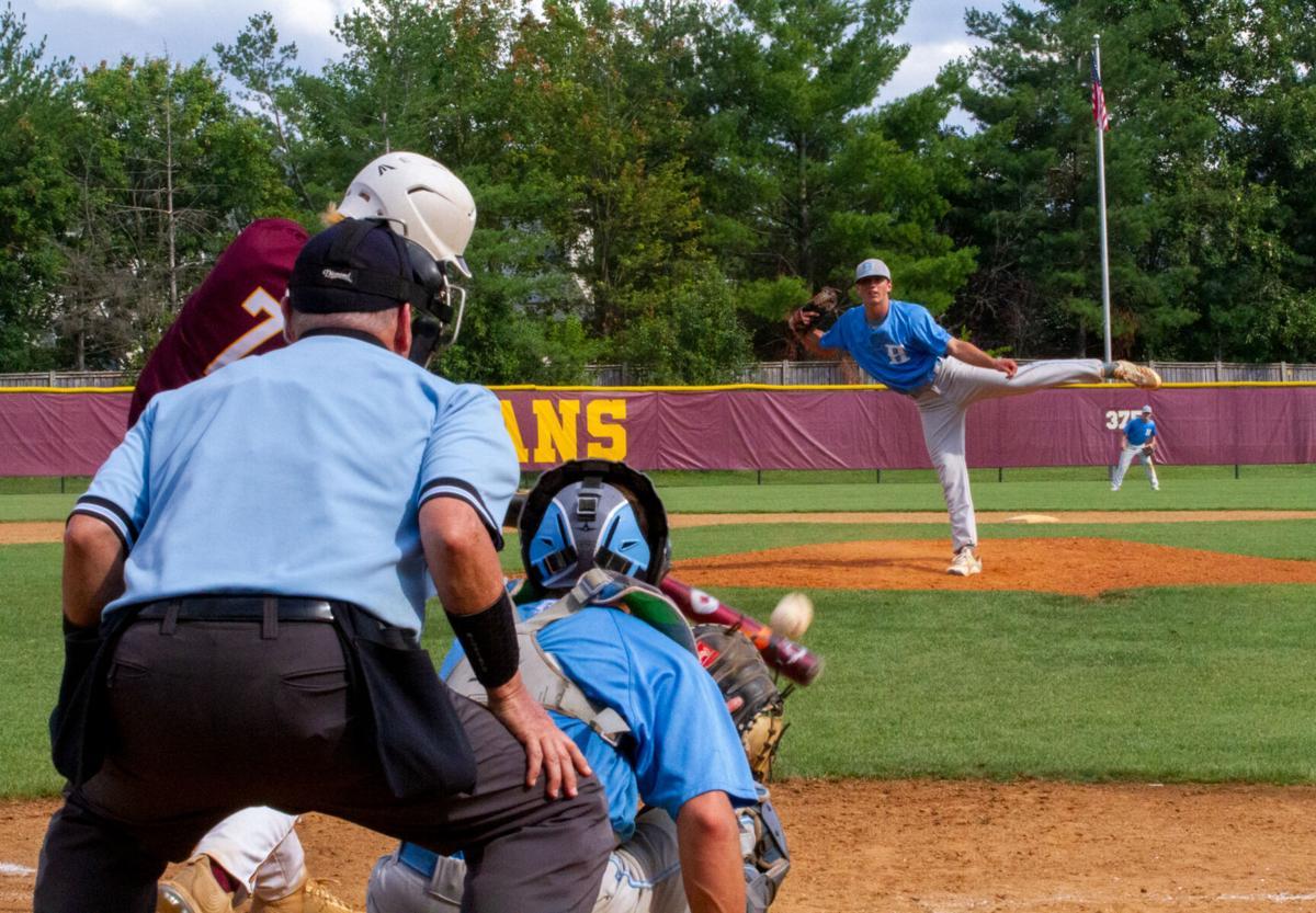 VHSL Class 4 baseball: Huesman's last out