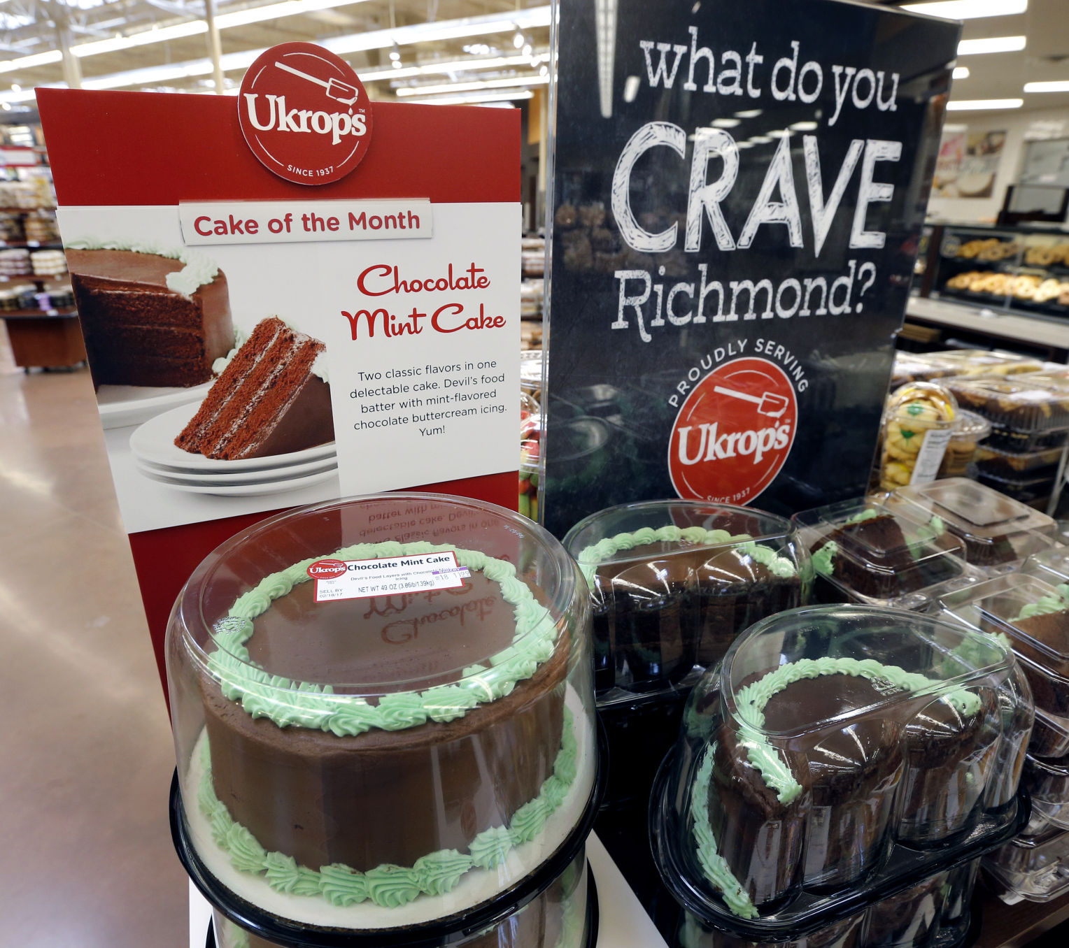 Ukrops bakery and prepared foods now in all Richmondarea Kroger