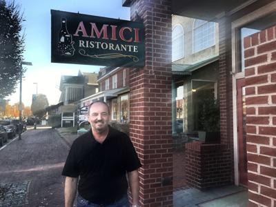 After A Shorter Than Expected Break Carlo Gaione Who Ran Amici In Carytown For 26 Years Is Opening Another Eatery
