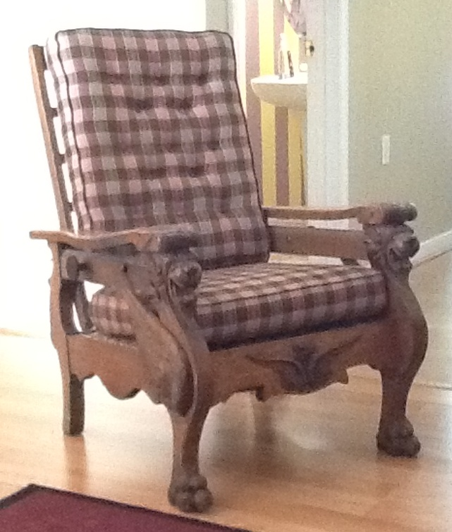 Enjoyable Whats It Worth Morris Chair Richmond Com Gamerscity Chair Design For Home Gamerscityorg