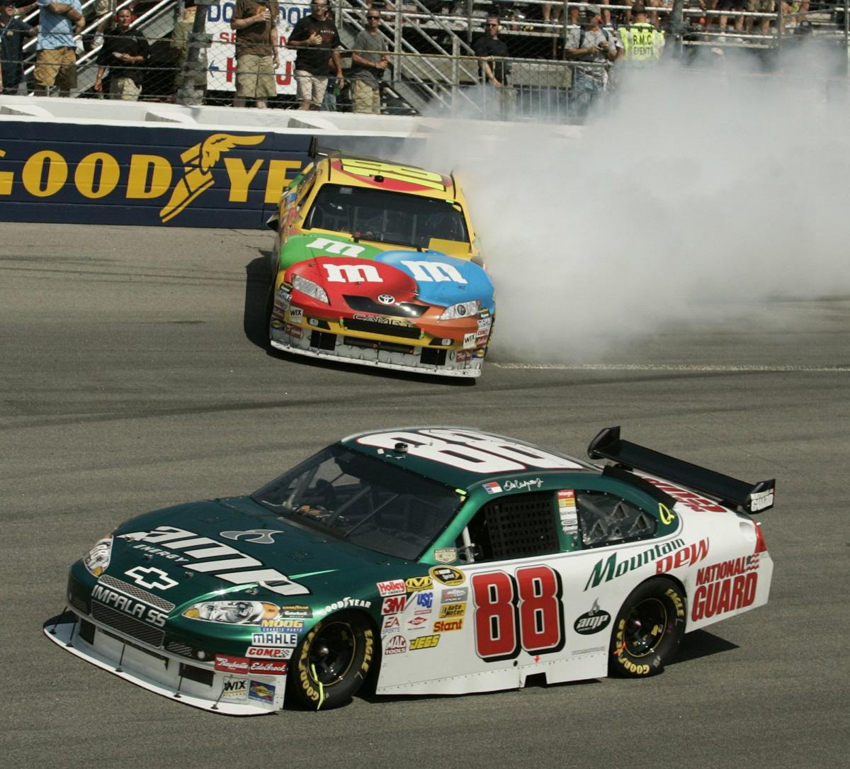 Ten years ago, Kyle Busch wrecked Dale Jr. at Richmond, cementing ...
