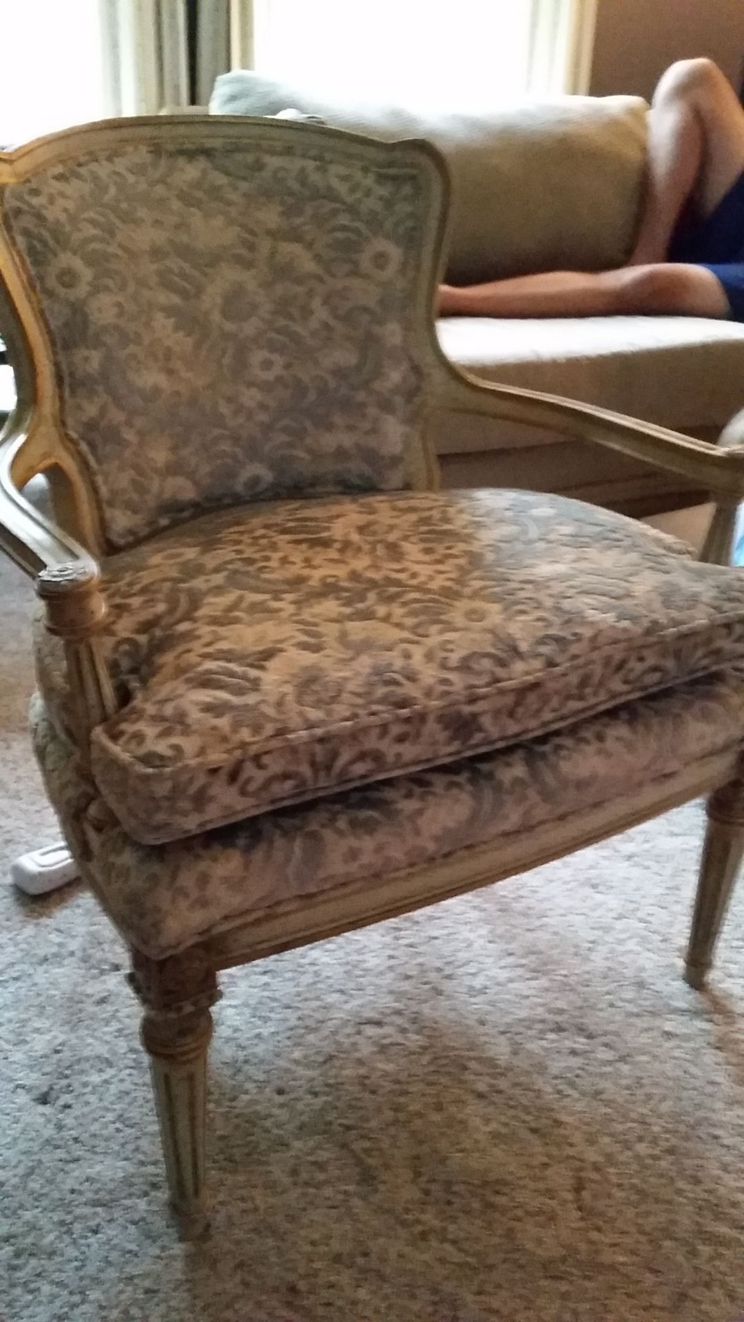 What\'s It Worth: French-style fauteuil chairs; Old steel filing ...